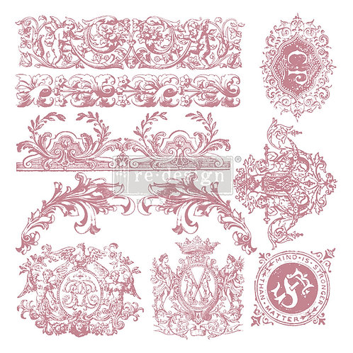 Chateau de Maison - Prima Clear Cling Stamp