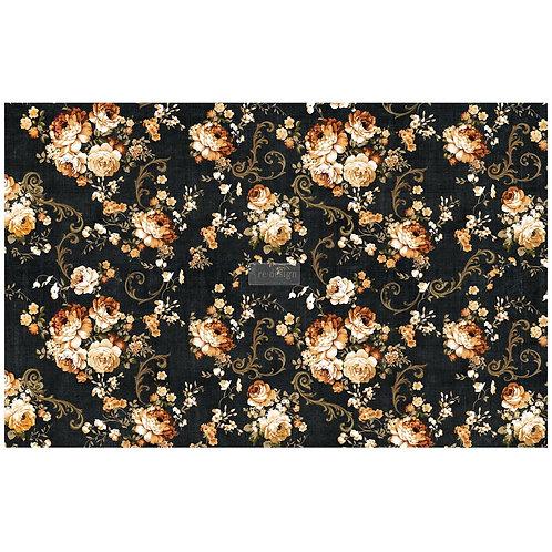 Dark Floral - Prima Mulberry Paper