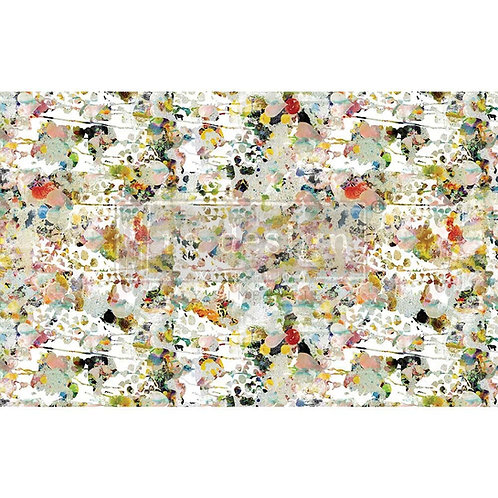 Flower Bed  - Prima Mulberry Paper