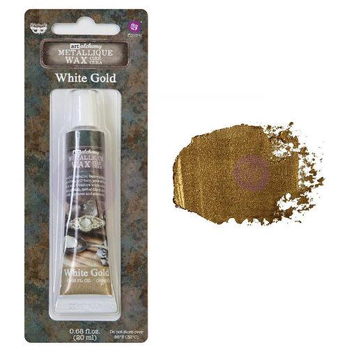 Metallique Wax- White Gold