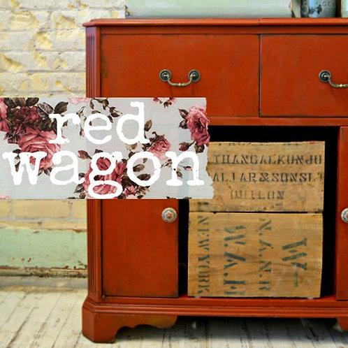 Red Wagon- Milk Paint