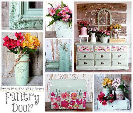 Pantry Door- Milk Paint