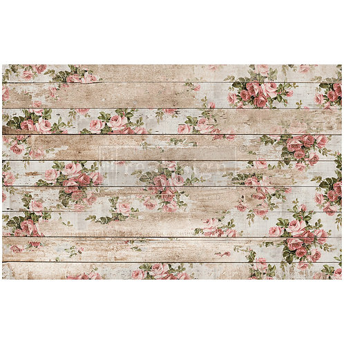 Shabby Floral  - Prima Mulberry Paper