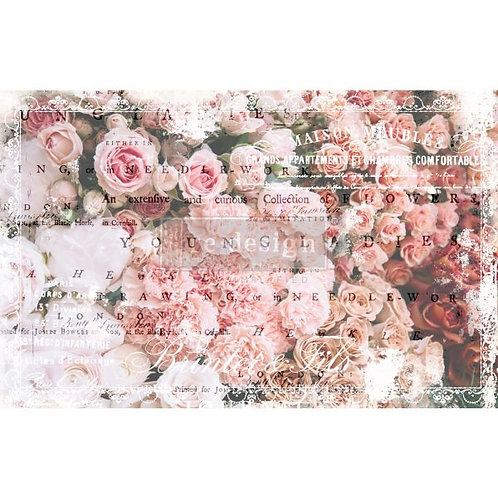 Angelic Rose Garden  - Prima Mulberry Paper