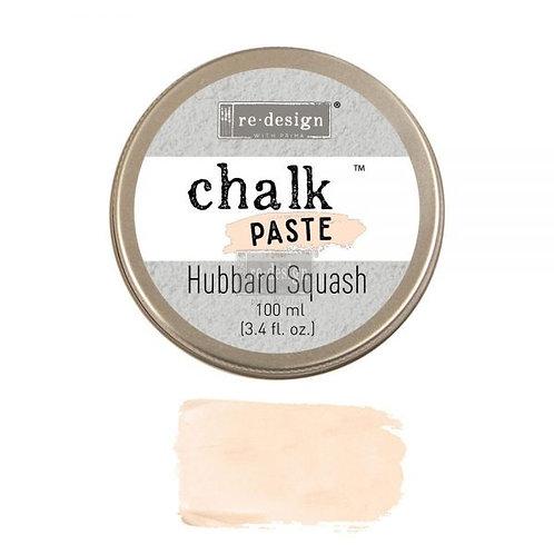 Hubbard Squash  -Chalk Paste