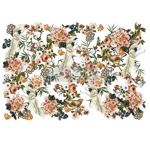 Elegance & Flowers  -Prima Transfer