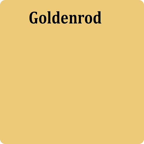 Goldenrod  -Chalk Synth Paint
