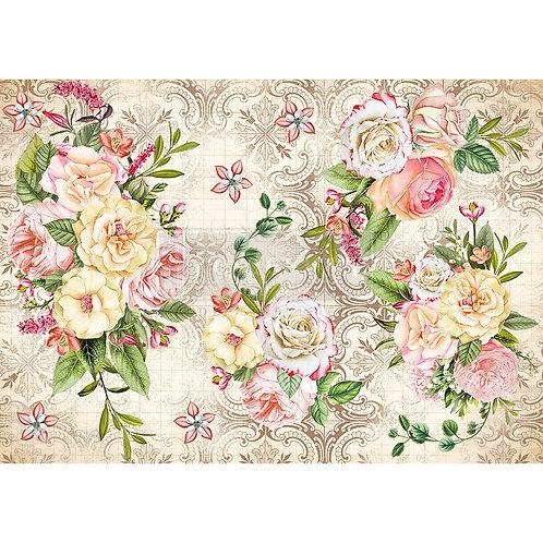 Amiable Roses  - Prima Rice Paper