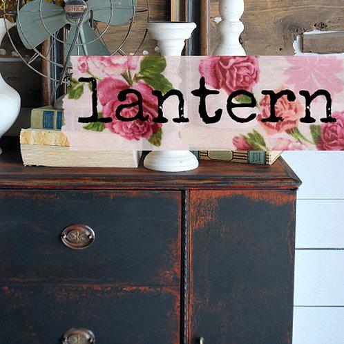Lantern- Milk Paint