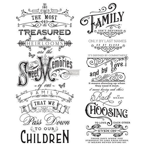 Family Heirlooms  -Prima Transfer