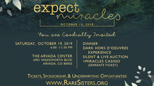 You are Invited | Expect Miracles Gala