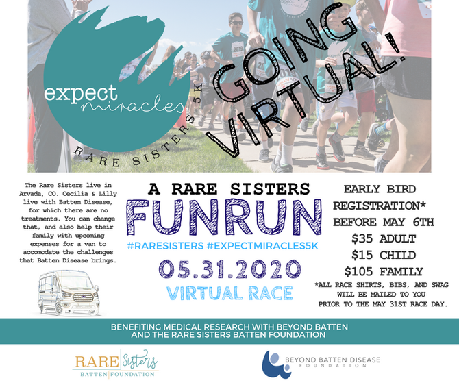 Expect Miracles 5k GOING VIRTUAL