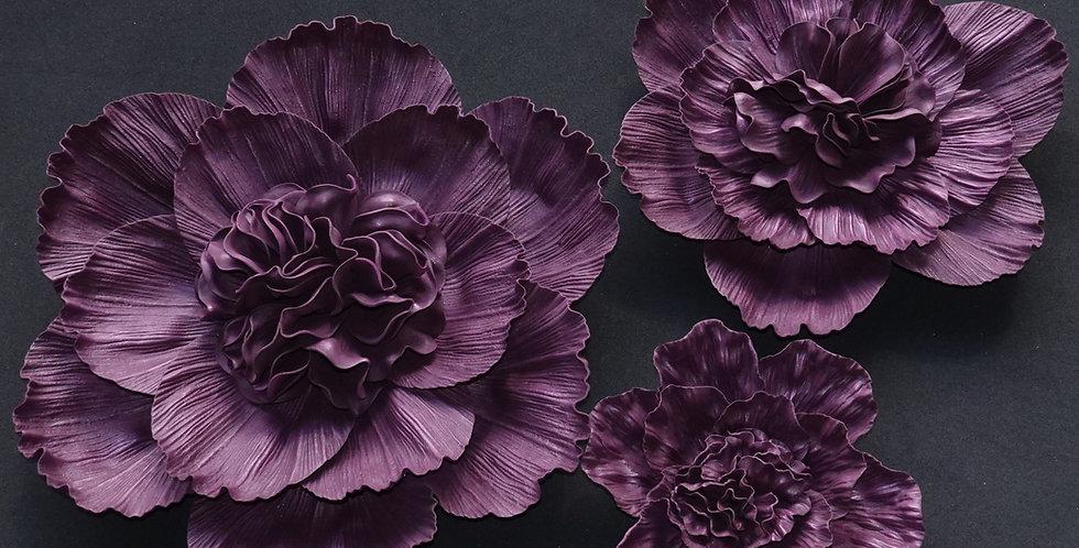 Peony Wall Flowers - Mauve
