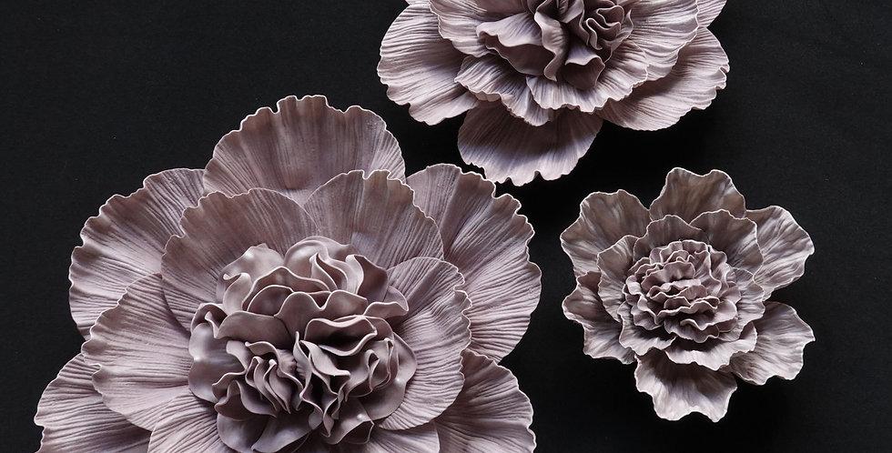 Peony Wall Flowers - Light Mauve