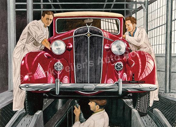 """Chrysler Factory 20"""" x 16"""" (unframed)"""