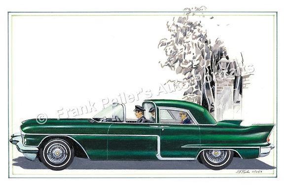 """56 Cadillac Eldorado in 1928  22""""x17"""" Print"""