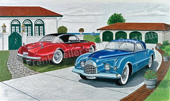 "Chrysler K310 x 2 17"" x 13"" Print"