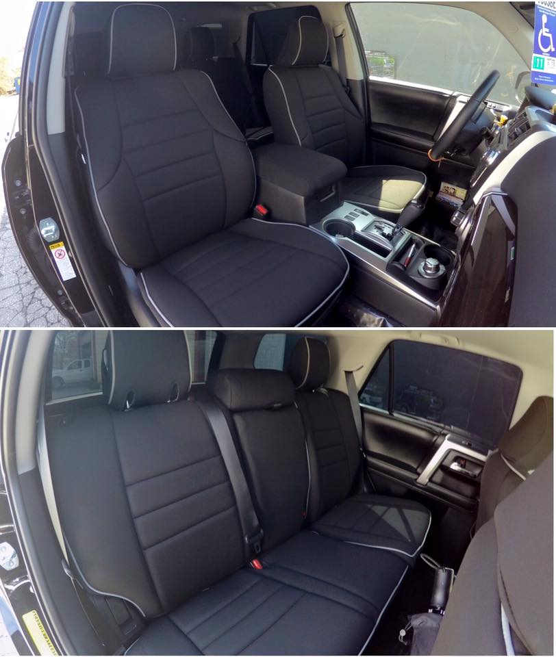 Custom Fitted Neoprene Front & Rear Seat