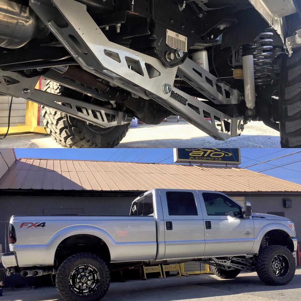 Mcgaughys 8in 4-Link Suspension Lift