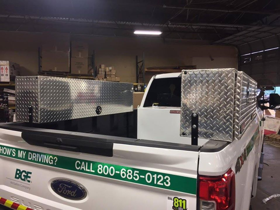 WeatherGuard Side Mount Toolboxes
