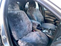 Genuine Sheepskin Custom Fit Seat Covers
