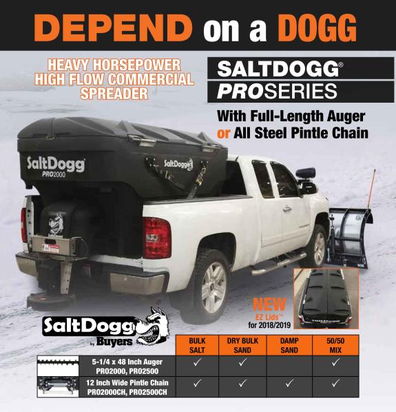 Saltdogg Pro 2000 - 2500