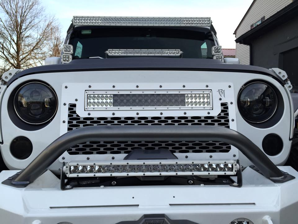 Rigid Industries - LED Lighting Grill