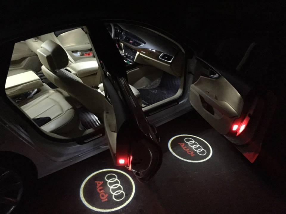 Audi Logo Illuminated Puddle Lights