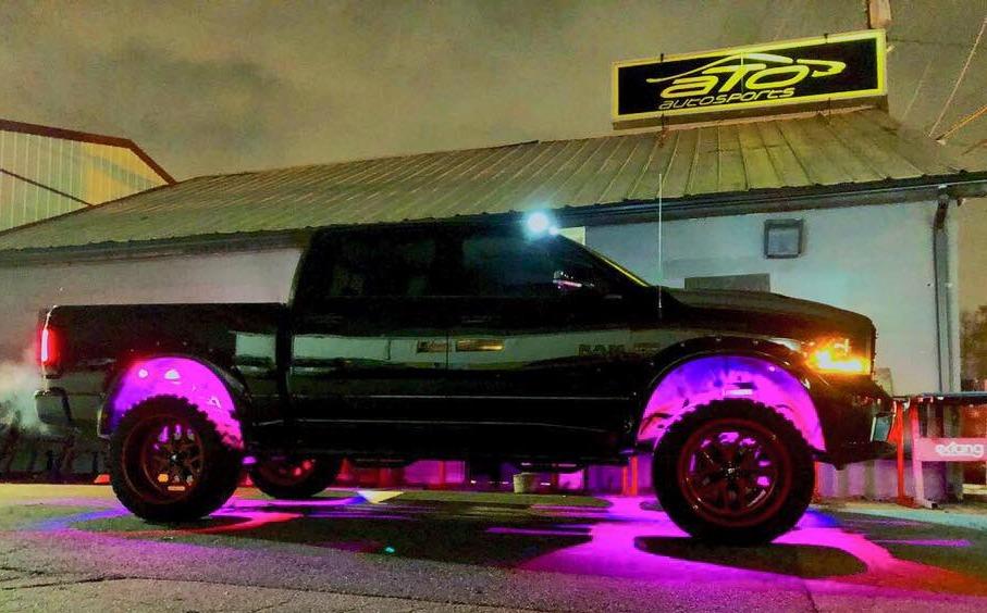 RGB Rock Lighting