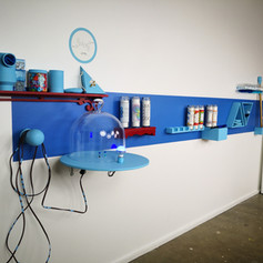 Blue Shrine - Interactive Installation