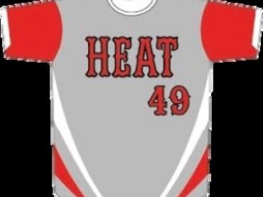 Cayuga Heat Jersey - Grey/Red