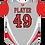 Thumbnail: Cayuga Heat Jersey - Grey/Red