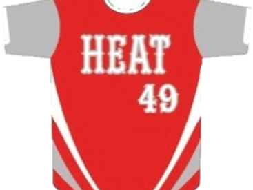 Cayuga Heat Jersey - Red/Gray