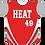 Thumbnail: Cayuga Heat Jersey - Red/Gray