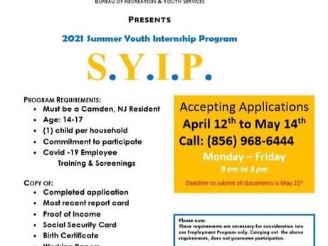 Summer Youth Internship Program
