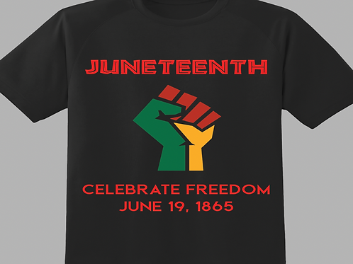 Juneteenth with Tri- Color Fist