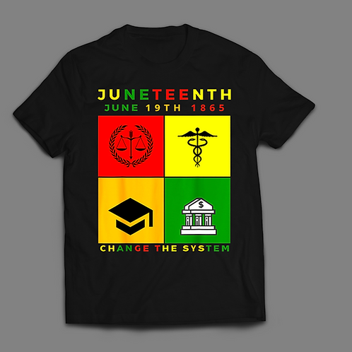 Juneteenth~ Change the System