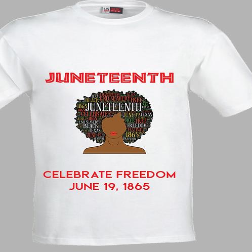 Juneteenth in Women's Afro