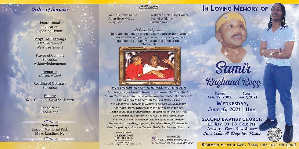 In Loving Memory of Samir Ross
