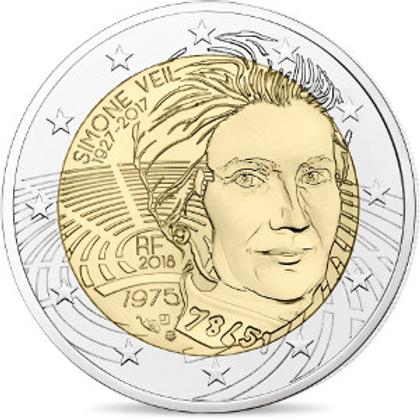 Simone Veil - 2 Euros (Blister)