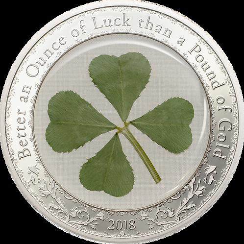Four-Leaf Clover: Ounce of Luck