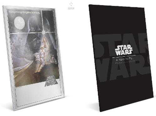 Star Wars: A new hope - Premium silver
