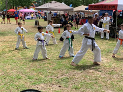 Karate at Founders Day