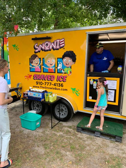 Snow cones at Founders Day
