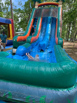 Slide at Founders Day