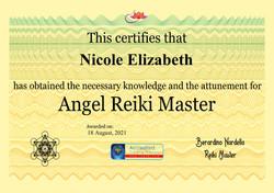 Angel Reiki Master