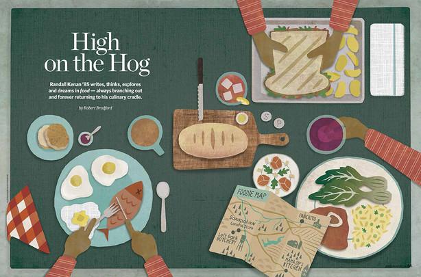 Carolina Alumni Review - Food Issue