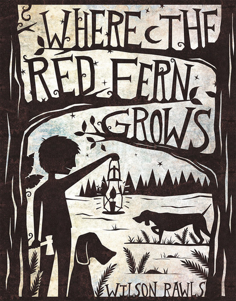 Book Jacket - Where the Red Fern Grows