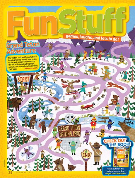 National Geographic Kids Magazine - Maze