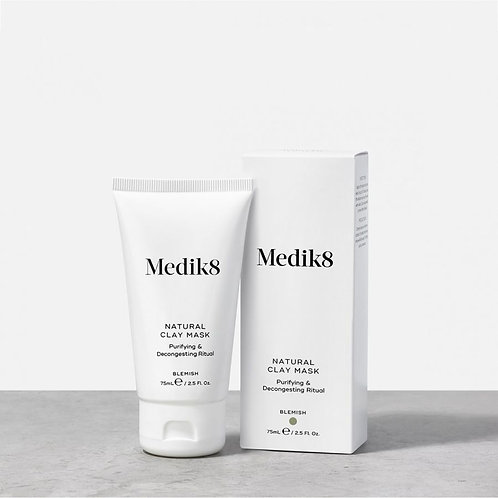 Medik8 NATURAL CLAY MASK™ Purifying & Decongesting Ritual